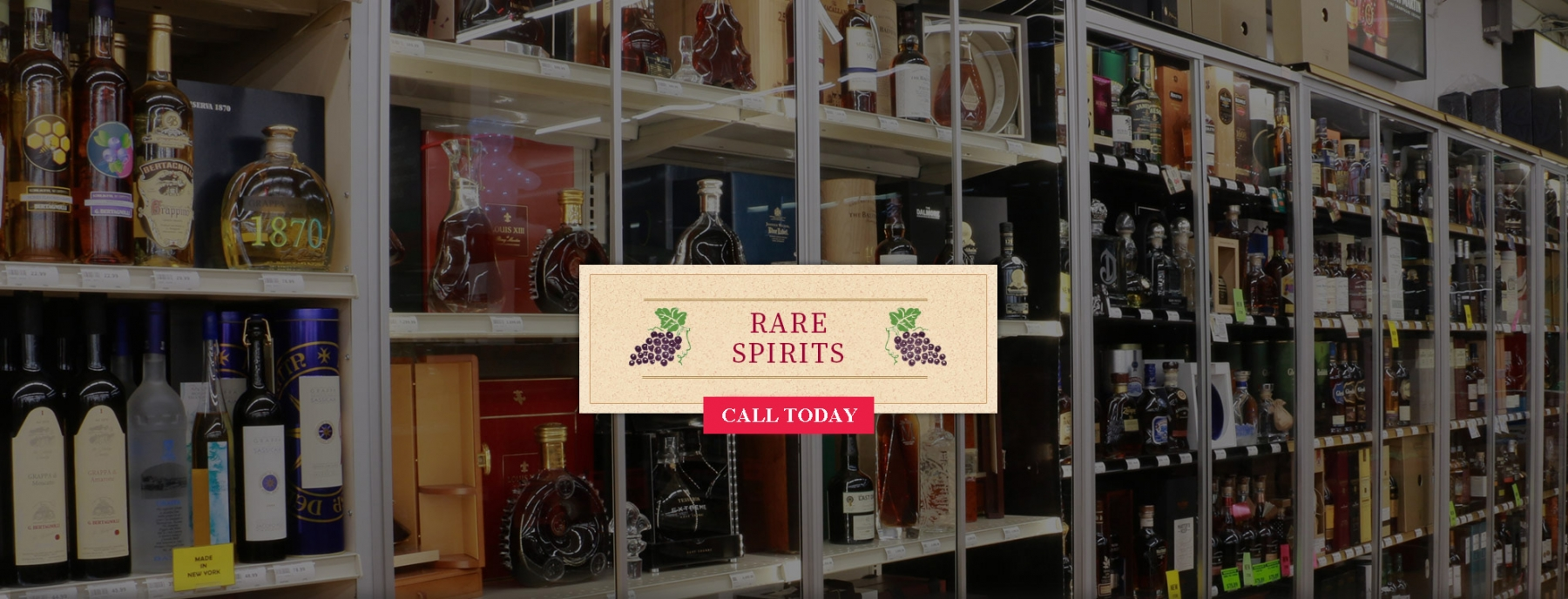 Overview Rare Spirits